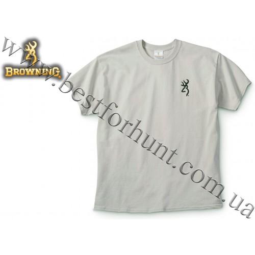 Browning® Vintage Black Lab Short Sleeve T-Shirt Natural