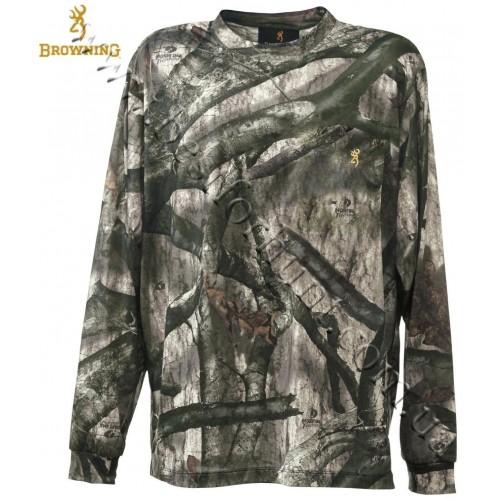 Browning® Wasatch™ Long Sleeve T-Shirt Mossy Oak® Treestand®