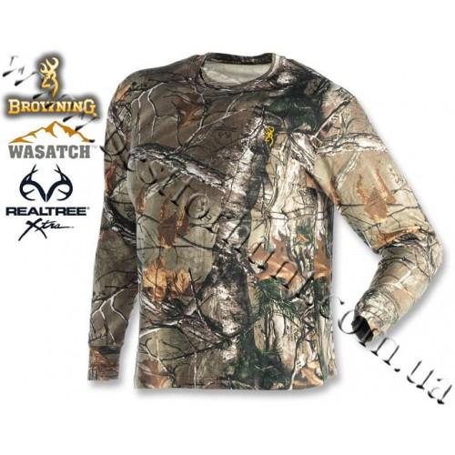 Browning® Wasatch™ Long Sleeve T-Shirt Realtree Xtra®