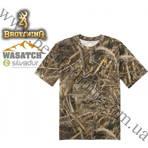 Browning® Wasatch™ Short Sleeve T-Shirt Realtree MAX-5®