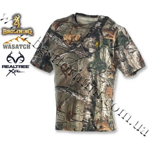 Browning® Wasatch™ Short Sleeve T-Shirt Realtree Xtra®