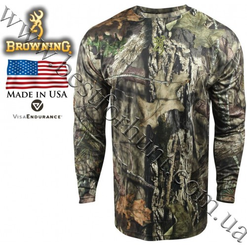 Browning® Wasatch™ Vapor Max Long Sleeve T-Shirt Mossy Oak® Break-Up® COUNTRY™