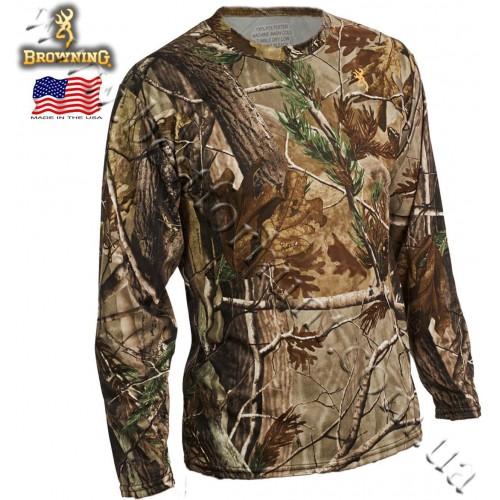 Browning® Wasatch™ Vapor Max Long Sleeve T-Shirt Realtree AP®