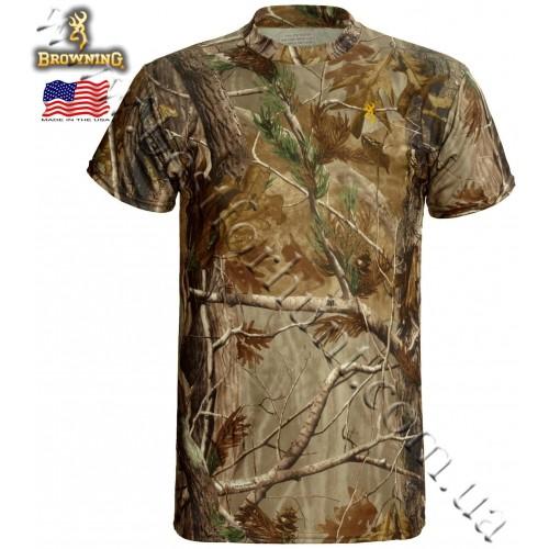 Browning® Wasatch™ Vapor Max Short Sleeve T-Shirt Realtree AP®
