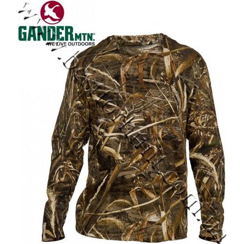 Gander Mountain® Guide Series™ Cotton Hush Long-Sleeve Tee Realtree MAX-5®