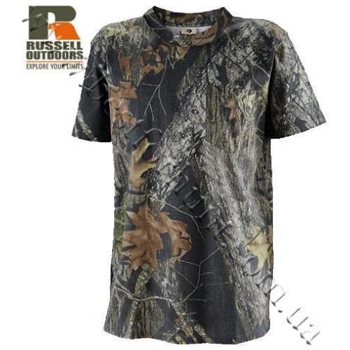 Russell Outdoors® Explorer Short Sleeve T-Shirt Mossy Oak® Break-Up®