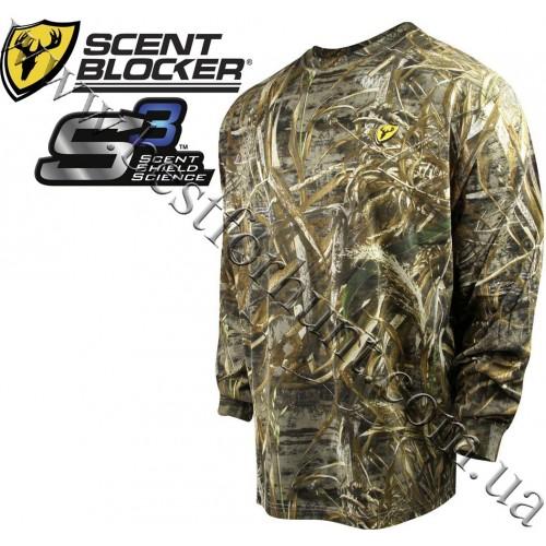 ScentBlocker® Fused Cotton Long Sleeve T-Shirt Realtree MAX-5®