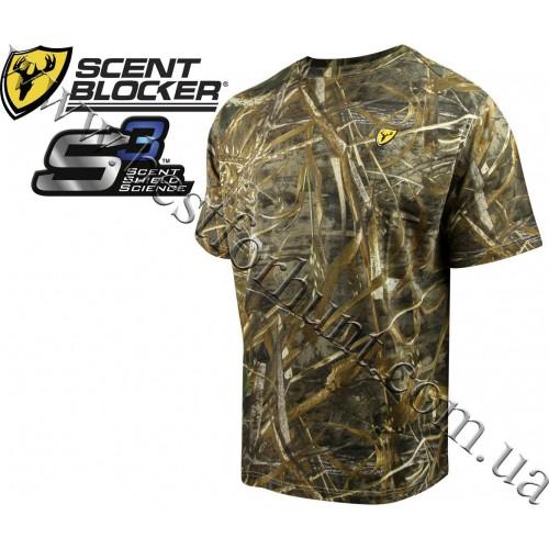 ScentBlocker® Fused Cotton Short Sleeve T-Shirt Realtree MAX-5®