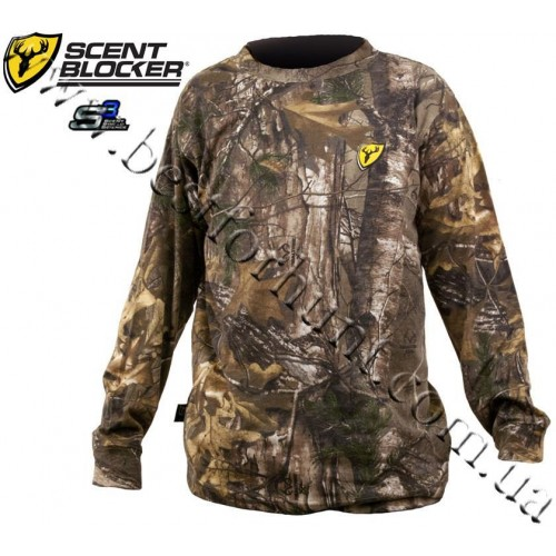 ScentBlocker® Long Sleeve Cotton T-Shirt Realtree Xtra®