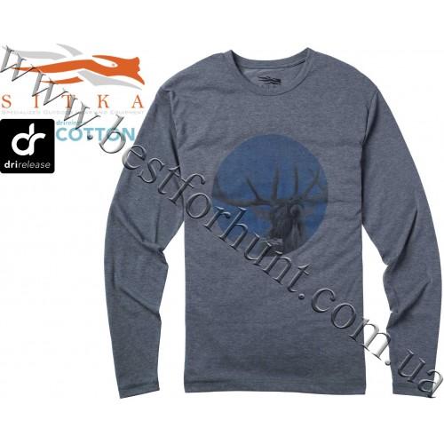 Sitka® Bugle Long Sleeve Tee Shirt Lead