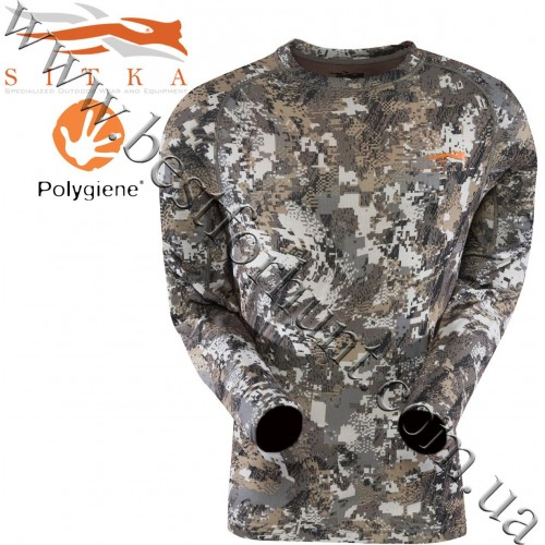 Sitka™ Core Lightweight Long Sleeve Crew GORE™ OPTIFADE™ Concealment Elevated II