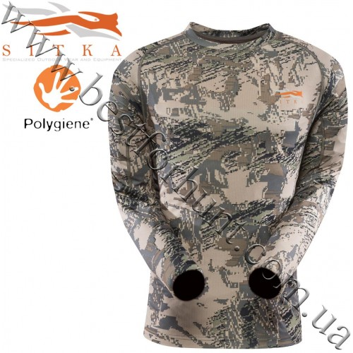 Sitka™ Core Lightweight Long Sleeve Crew GORE™ OPTIFADE™ Concealment in Open Country