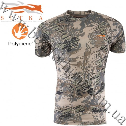 Sitka™ Core Lightweight Short Sleeve Crew GORE™ OPTIFADE™ Concealment in Open Country