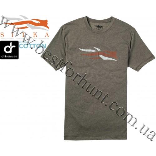 Sitka® Logo Short Sleeve Tee Shirt Pyrite