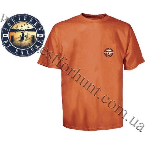 Southern by Nature™ Dog Days Of Summer Pocket T-Shirt Burnt Orange
