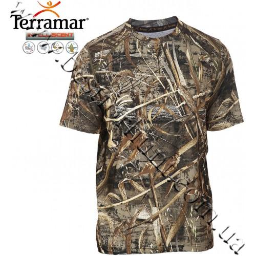 Terramar® Stalker™ INTELLISCENT™ Short Sleeve Essentials Shirt Realtree MAX-5®