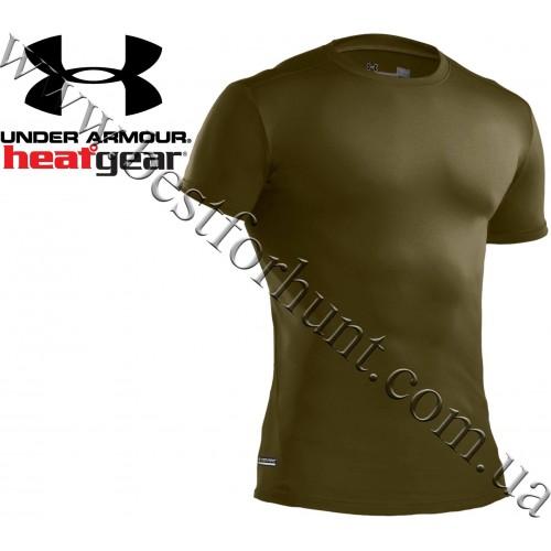 Under Armour® Tactical HeatGear® Compression Short Sleeve Shirt Green