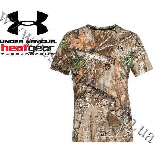Under Armour® Threadborne™ Early Season Hunting Short Sleeve Shirt Realtree Edge™