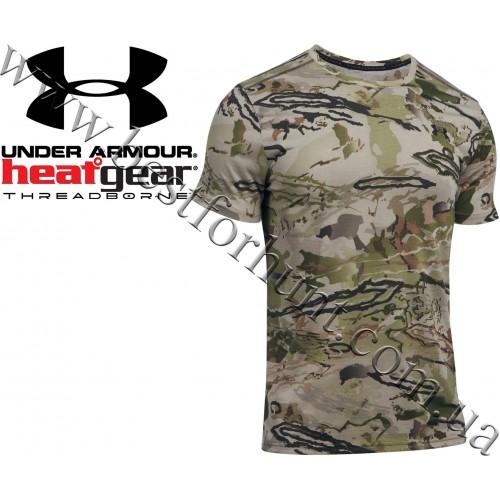 Under Armour® Threadborne™ Early Season T-Shirt Ridge Reaper Barren® Camo