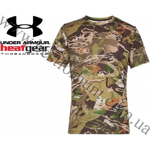 Under Armour® Threadborne™ Early Season T-Shirt Ridge Reaper Forest® Camo