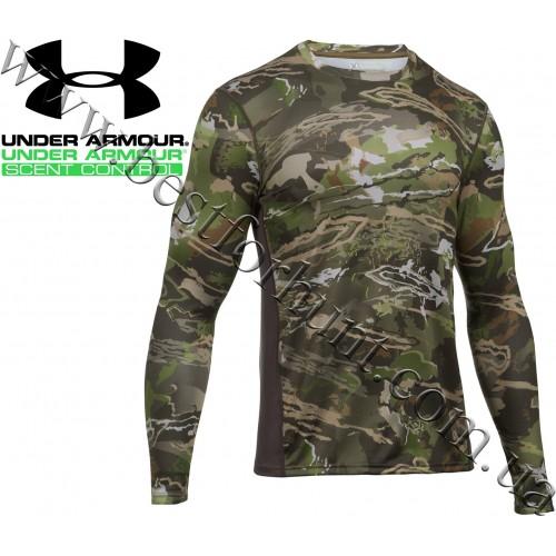 Under Armour® UA Tech™ Scent Control Long Sleeve Shirt Ridge Reaper Forest® Camo