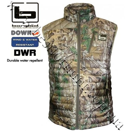 Banded® Agassiz 800 Fill Power Goose Down Vest Realtree Xtra®