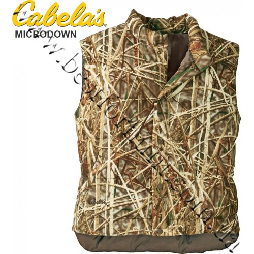 Cabela's Synthetic Down Vest Seclusion 3D® Backwaters®