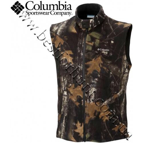 Columbia® Lock and Load Fleece Vest Timberwolf Camo®