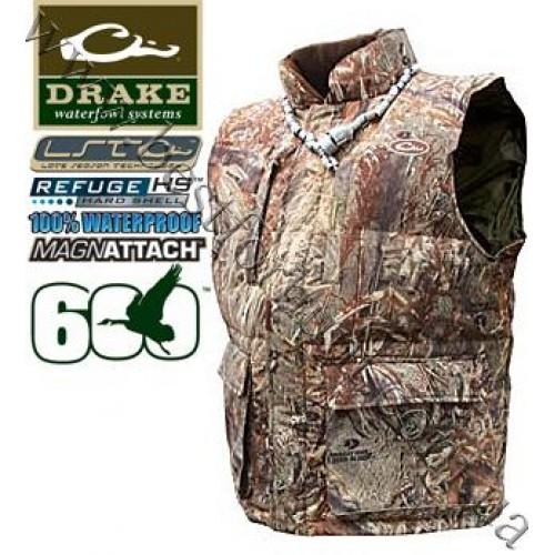 Drake Waterfowl LST Down Vest Mossy Oak® Duck Blind®