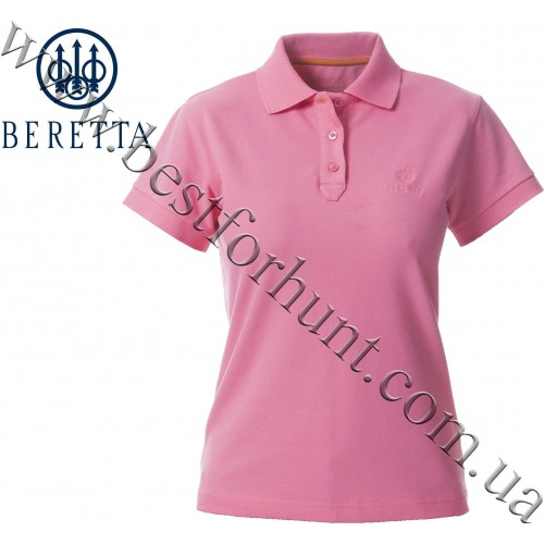 Beretta® Woman's Corporate Signature Polo MD98 Hot Pink
