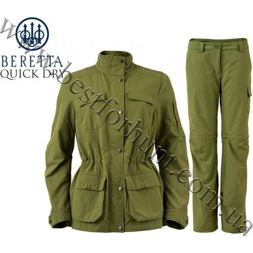 Beretta® Women's Quick Dry™ Hunting Set Avocado