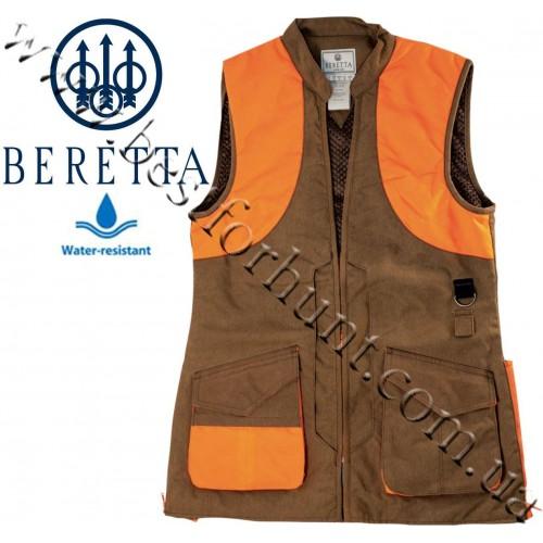 Beretta® Women's Wax Cotton Vest GDA2 Tobacco Blaze