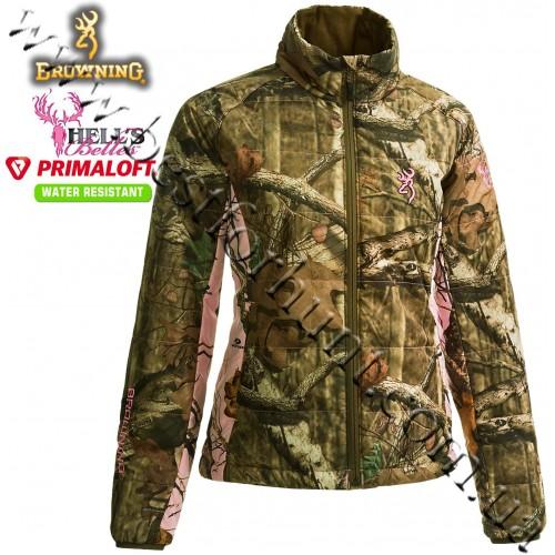 Browning® Hell's Belles™ PrimaLoft® Insulated Jacket Mossy Oak® Break-Up® Infinity™-Mossy Oak® Pink®