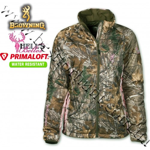Browning® Hell's Belles™ PrimaLoft® Insulated Jacket Realtree Xtra®-Realtree AP® Pink