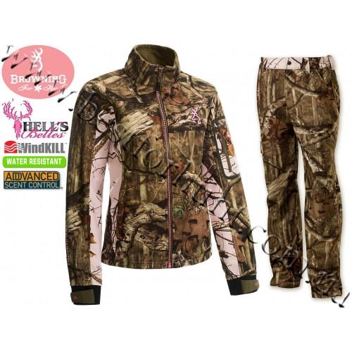Browning® Hell's Belles™ Soft Shell Set Mossy Oak® Break-Up® Infinity™-Mossy Oak® Pink®
