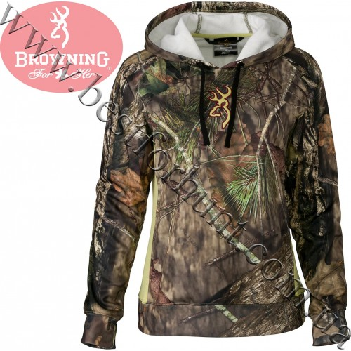 Browning® Women's Arches Hoodie Mossy Oak® Break-Up® COUNTRY™