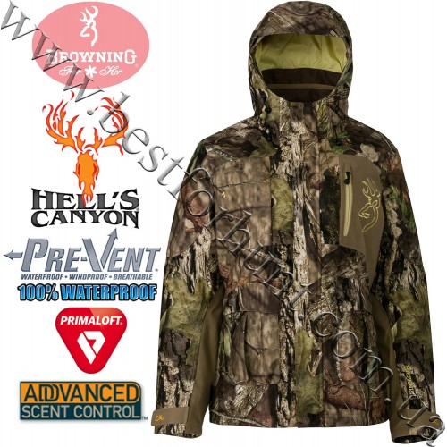 Browning® Women's Hell's Canyon™ BTU PrimaLoft® Insulated Parka Mossy Oak® Break-Up® COUNTRY™