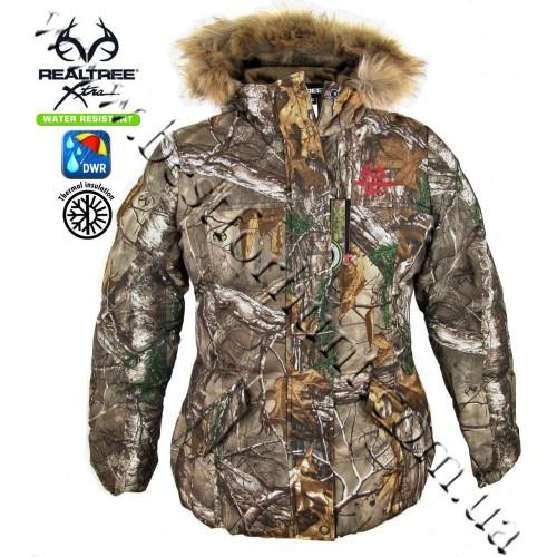 Realtree® Women's Camo Bubble Insulated Hunting Jacket Realtree Xtra®