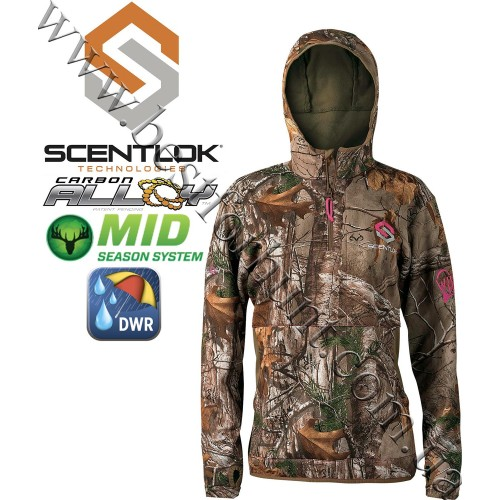 ScentLok® Women's Wild Heart Hi-Tech Hoodie Realtree Xtra®