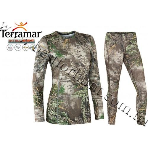 Terramar® Women's Stalker™ INTELLISCENT™ Camo Essentials Set Realtree MAX-1®