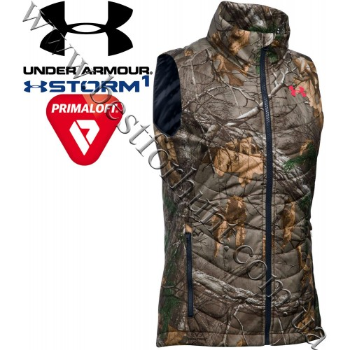 Under Armour® Women's Frost Puffer Storm Insulated Vest Realtree Xtra®