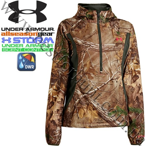 Under Armour® Women's Scent Control Early Season Speed Freek Hunting Hoodie Realtree Xtra®