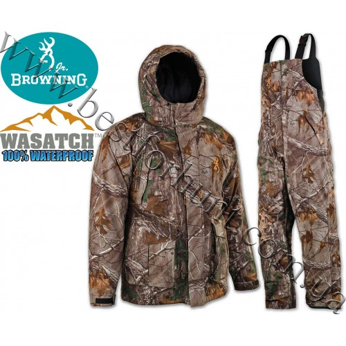 Browning® Wasatch™ Junior Waterproof Insulated Set Realtree Xtra®