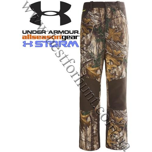 Under Armour® Boys AllSeasonGear® Storm Field Pants Realtree Xtra®