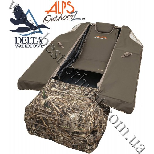 ALPS OutdoorZ® Delta Waterfowl™ Zero-Gravity Legend Layout Blind Realtree MAX-5®