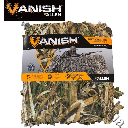 "Allen Co. Vanish™ 3D Leafy Omnitex 56""x12' Die-Cut Blind Fabric Mossy Oak® Shadow Grass® Blades™"