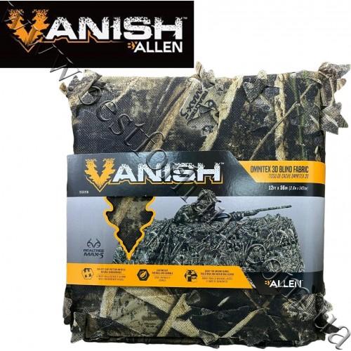 "Allen Co. Vanish™ 3D Leafy Omnitex 56""x12' Die-Cut Blind Fabric Realtree MAX-5®"