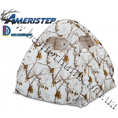 Ameristep® Gunner Predator Ground Blind Realtree AP® Snow