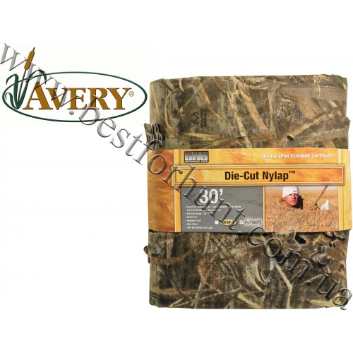 """Avery Outdoors® Die-Cut Nylap™ 30'x54"""" Blind Material Realtree MAX-5®"""