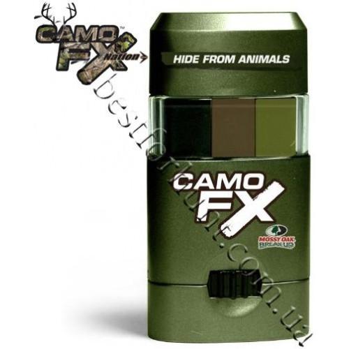 CamoFX® Mossy Oak® Break-Up® Infinity™ Face Paint Black-Green-Tan